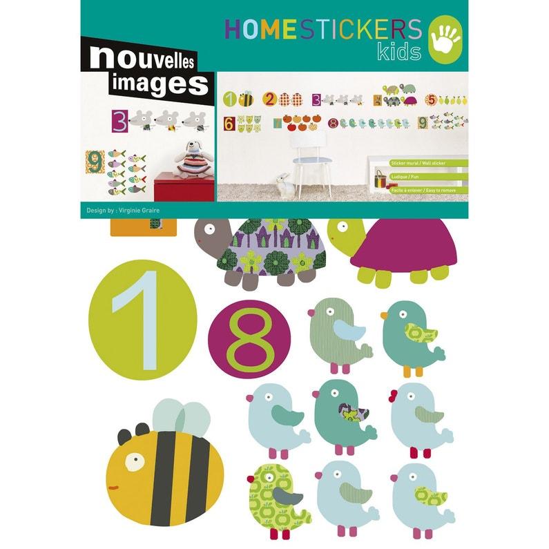 Sticker Les Chiffres 49 Cm X 69 Cm
