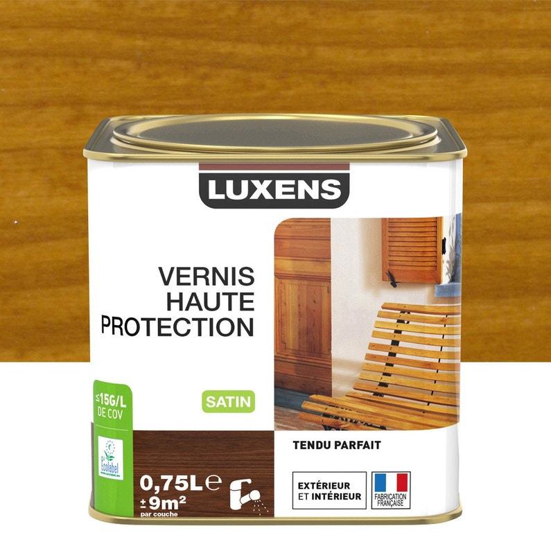 Vernis Luxens Vernis Ext Luxens 075l Satine Chene Moy 075 L Chêne Moyen