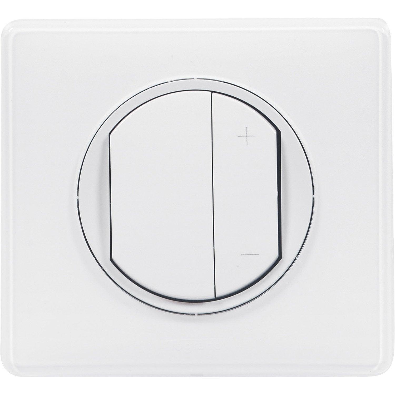 variateur c liane blanc legrand leroy merlin. Black Bedroom Furniture Sets. Home Design Ideas