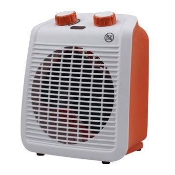 Radiateur soufflant salle de bain mobile électrique orange EQUATION Five 2000 W