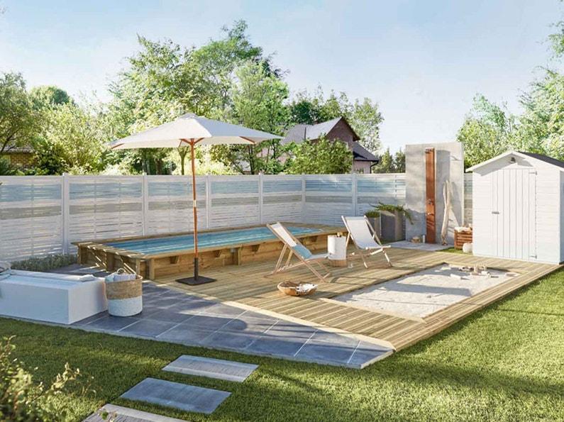 piscine spa leroy merlin. Black Bedroom Furniture Sets. Home Design Ideas