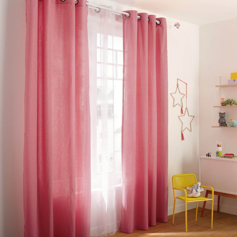 Des rideaux pour une chambre de fille trendy   Leroy Merlin